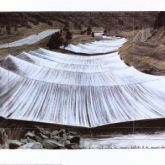 "Christo ""Over the River III Above"""