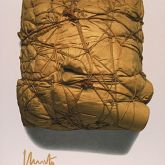 """Christo """"Package 1961 (signiert)"""""""