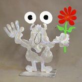 """Patrick Preller """"Gartenmonster mit Blume"""""""