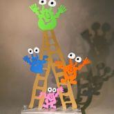 """Patrick Preller """"Monster auf der Leiter"""""""