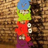 "Patrick Preller ""Monsterturm mit 5 Monstern"""