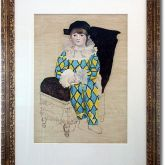 "A. R. Penck ""Paul en Arlequin"""