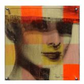 "Paul Thierry ""Audrey Hepburn (Orange)"""