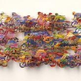 "David Gerstein ""Peloton (Papercut)"""