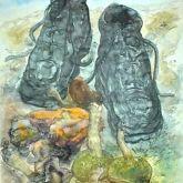 """Günter Grass """"Pilze und Schuhe"""""""