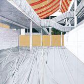 """Christo """"Projekt für Museum Würth (1995)"""""""