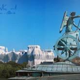 """Christo """"Reichstag Brandenburger Tor """""""