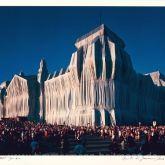 "Christo ""Reichstag Mappe I, 18 Uhr"""