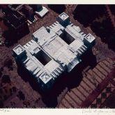 """Christo """"Reichstag Mappe II, Dach aus der Luft"""""""
