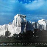 """Christo """"Reichstag Ost und Nordfassaden"""""""