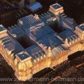 """Christo """"Reichstag West und Nordfassade"""""""