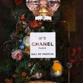 "Mascha de Haas ""Rood Chanel Rachel Ruysch 3 birdy"""