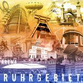 """Fritz Art """"Ruhrgebietscollage Regenbogen"""""""