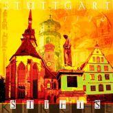 """Fritz Art """"Stuttgart Stiftskirche"""""""