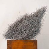"Dagmar Vogt ""Schräges Nest – Skulptur"""