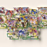 "David Gerstein ""Silly Cows Valley (Papercut)"""