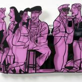 """David Gerstein """"Bar Series - Small Talk (purple)"""""""