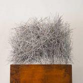 "Dagmar Vogt ""Stehendes Nest – Skulptur"""