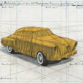 "Christo ""Wrapped Automobile, Project for Studebaker"""