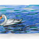 "David Gerstein ""Swimming Swan"""