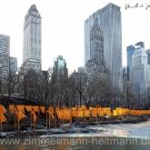 "Christo ""The Gates, Foto von Wolfgang Volz 50"""