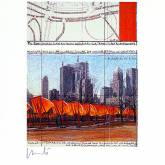 "Christo ""The Gates XXIV """