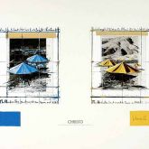 """Christo """"The Umbrellas, Joint Project """""""
