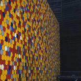 "Christo ""The Wall Nr. 4 Oberhausen"""