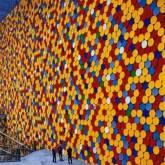 "Christo ""The Wall Nr. 6 Oberhausen"""