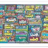 "James Rizzi ""The Romance Of The Road"""