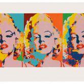 "James Francis Gill ""Three Faces Of Marilyn"""