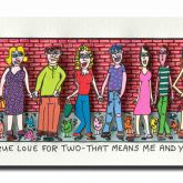 "James Rizzi ""True Love For Two - That Means Me ..."""