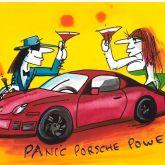 """Udo Lindenberg """"Panic Porsche Siebdruck"""""""