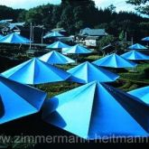 "Christo ""Umbrellas Blau Nr. 12"""