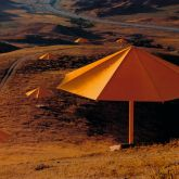 "Christo ""Umbrellas Yellow (1984-1991) """
