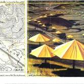 "Christo ""Umbrellas Yellow II"""