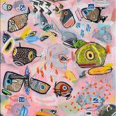 """Jacob Herskind """"Unterwasser Pink 1"""""""