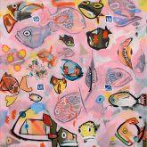 """Jacob Herskind """"Unterwasser Pink 2"""""""