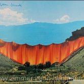"""Christo """"Valley Curtain 1972"""""""
