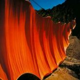"Christo ""Valley Curtain 2 1972"""