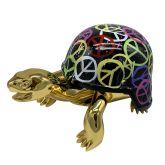 "Diederik van Appel ""Golden Peace Turtles (World Peace)"""