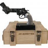 "Diederik van Appel ""Revolver Black Amex - Art against war"""