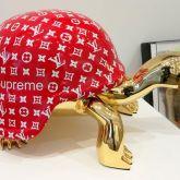 """Diederik van Appel """"Peace Turtle Golden (Fashion Desire)"""""""