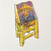 "David Gerstein ""Vincent I (Papercut)"""