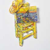 "David Gerstein ""Vincent III (Papercut)"""
