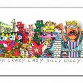 "James Rizzi ""What A Happy, Slappy, Sunny, Funny, ..."""
