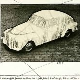 "Christo ""Wrapped Automobile Volvo"""