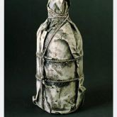 "Christo ""Wrapped Bottle 1958 """