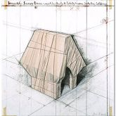 """Christo """"Wrapped Snoopy House, Project"""""""