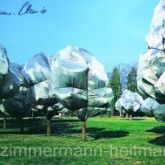 "Christo ""Wrapped Trees Nr. 11"""